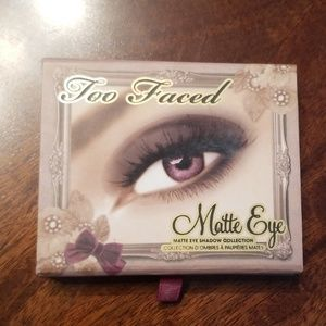 Too Faced Matt's Eye Shadow Collection